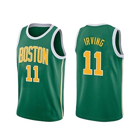 NBALL-HU Camiseta Sin Mangas De Baloncesto Verde para Hombre ...