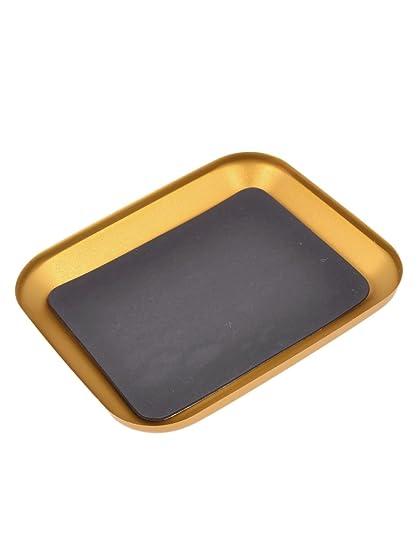 Amazon.com : Bandeja de aluminio anodizado Tornillo w cojín ...