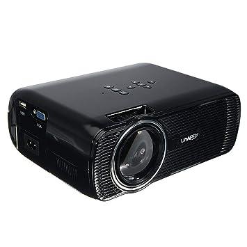 U80 7000 LM Proyector Digital Portátil HD 1080 P Proyector ...