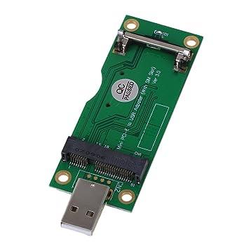 Adaptador verde Mini PCI-E a USB con ranura para tarjeta SIM ...