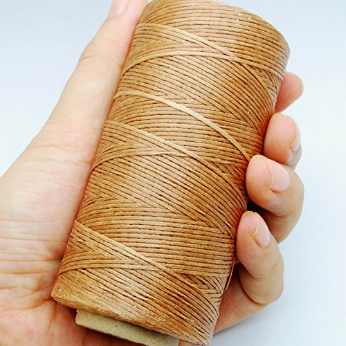 leather sewing thread brown - 5