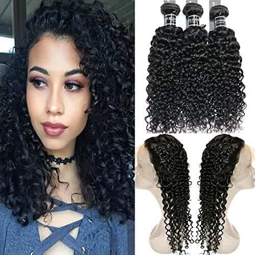Lace Wigs Brave Curly 360 Lace Front Human Hair Wigs For Black Women Pre Plucked Brazilian Lace Wigs 150% 180% 250% Density Remy Alipearl Hair