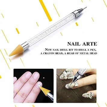 Amazon Ltrottedj 1nail Art Dotting Pen Acrylic Rhinestone