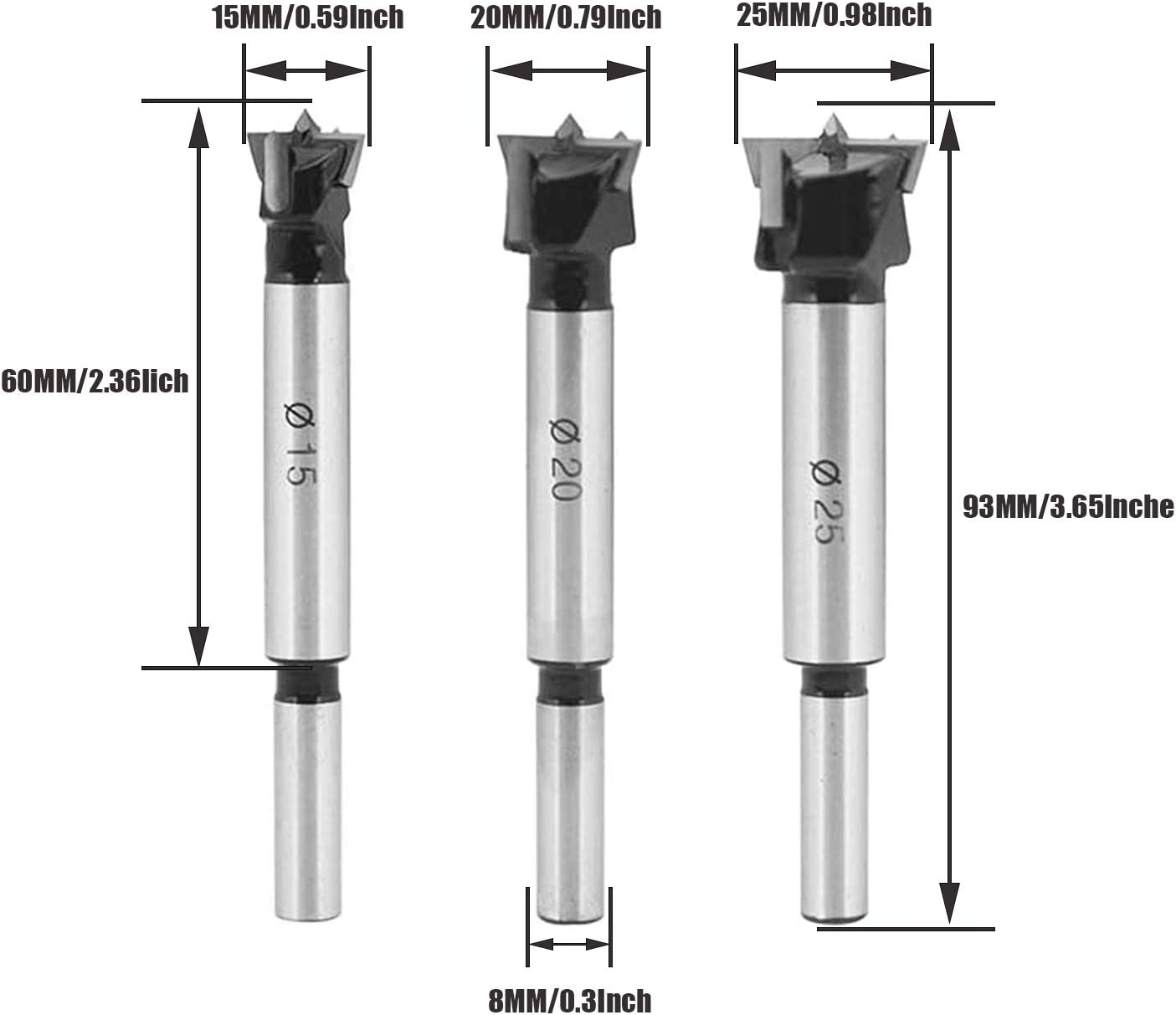 20 Size H6 Pitch Diameter High-Speed Steel HPT 30691 Thread Forming Fractional High Performance Taps Plug Style Bright Finish DIN Length 1//4
