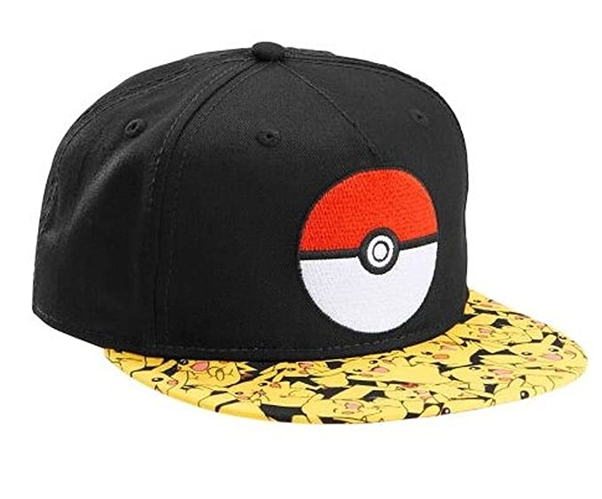 f1d607d81e5 Image Unavailable. Image not available for. Color  Boys Pokemon Pokeball  Snapback ...