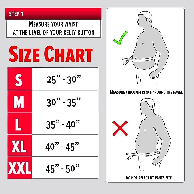 Gewichthebergürtel Leder Größe S XXL