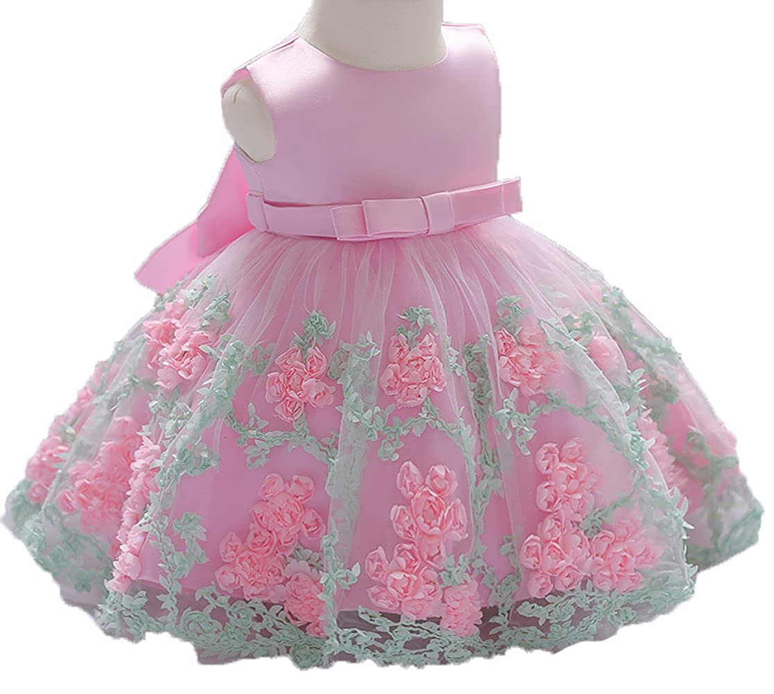 OURDREAM Baby Girls Wedding Dresses Toddler Pageant Dress