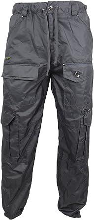 Pantaloni impermeabili da uomo, per pesca, campeggio Mekanik Grey