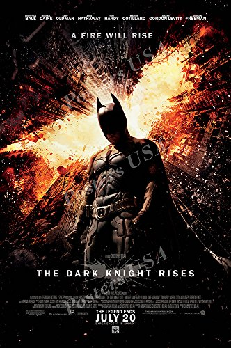 Posters USA - DC The Dark Knight Rises Batman Movie Poster GLOSSY FINISH - FIL217 (24