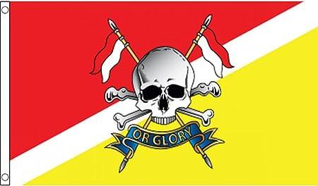 AZ FLAG Bandera del Royal Lancers del Reino Unido 150x90cm - Bandera Ejercito BRITANICO 90 x 150 cm: Amazon.es: Hogar