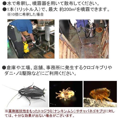 業務用殺虫剤 エクスミン乳剤「SES」水性 1本(1L) 医薬部外品