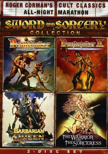 Roger Corman's Cult Classics Sword And Sorcery Collection (Deathstalker, Deathstalker II, The Warrior And The Sorceress & Barbarian Queen) (Roger Cormans Cult Classics Sword And Sorcery Collection)