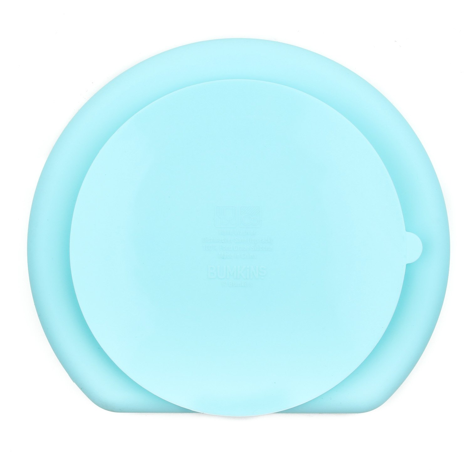 amazon com bumkins silicone grip dish blue baby