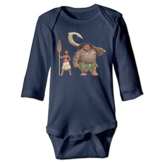 72be9c74d Amazon.com  DELPT Moana Cute Newborn Baby Climb Romper Navy  Clothing