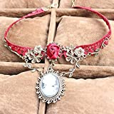 Red Rose Lace Fashion Necklace