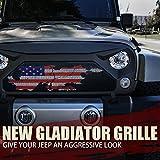 Xprite Matte Black Front Grill Gladiator Vader