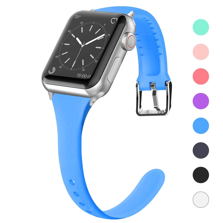 Malla Silicona para Apple Watch (38/40mm) LWSENGME [SXK2R9Z]