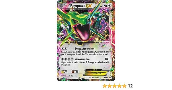 Rayquaza EX xy69 PROMO CARD Inglese POKEMON