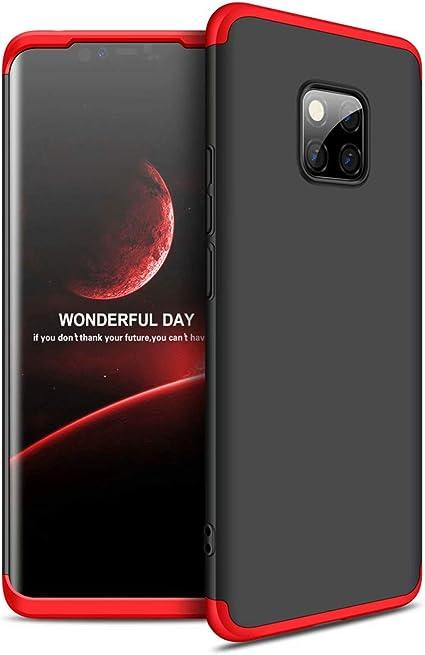 Noir TXLING Coque pour Huawei Honor 9X /Étui 360/°Housse de PC Hard Shell Anti-Choc Corps Entire Full-Cover Case Casque de Protection Matte 3 en 1