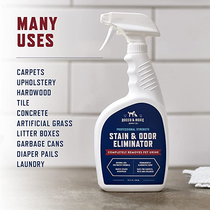 Amazoncom Rocco Roxie Supply Co Professional Strength Stain - How to clean dog urine from tile floors