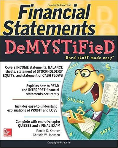 Financial Statements Demystified: A Self-Teaching Guide (Demystified