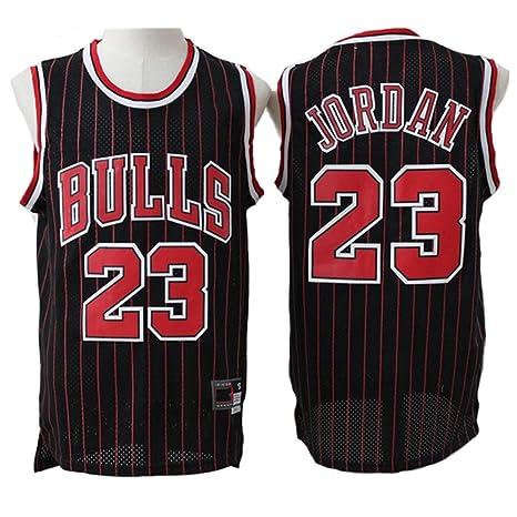 LLYLL Camiseta de Baloncesto para Hombre Michael Jordan # 23 ...
