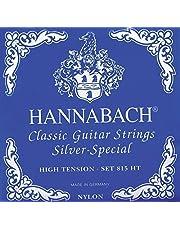 Hannabach 652538 Saiten für Klassikgitarre Seire 815 High Tension Silver Special - 3er Bass