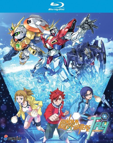 Blu-ray : Gundam Build Fighters: Try - Complete Collection (3 Pack, 3 Disc)