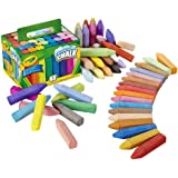 CRAYOLA Washable Sidewalk Chalk, Creative Outdoor Art, Perfect for Outdoor Kids' Activities and Games!, Multi, 48 ct (51…