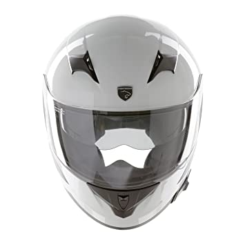 Panthera casco de moto integral Roadster blanco brillante talla XS