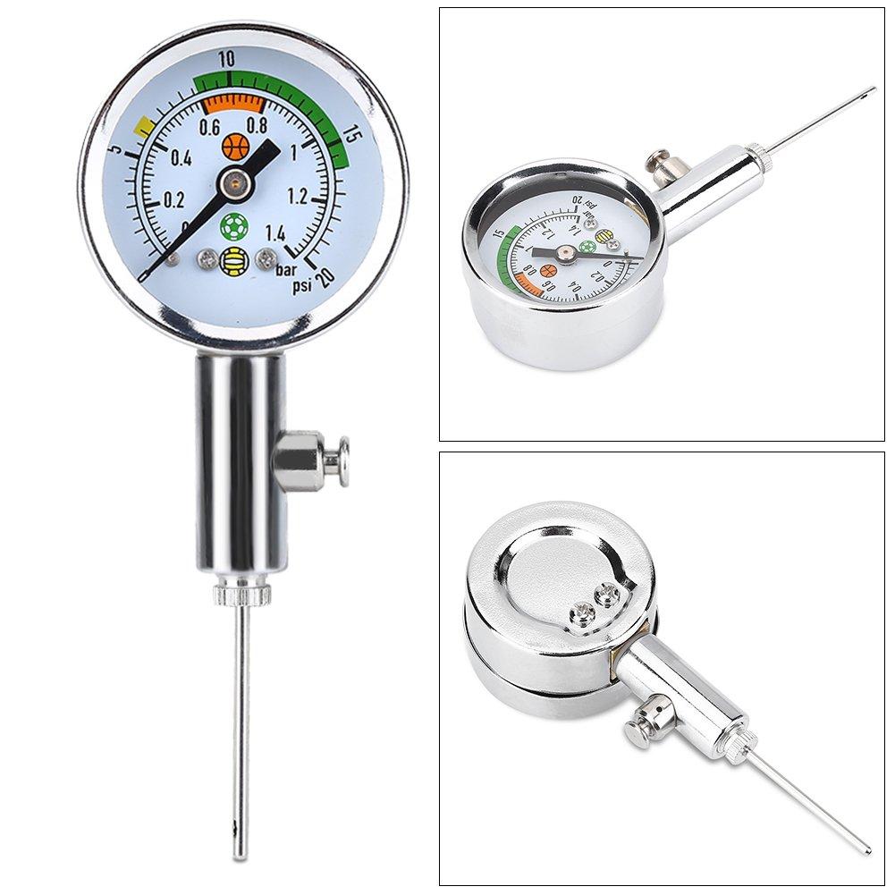 Air Pressure Gauge Barometer, Mini Ulitity Pressure Measure Tool for Basketball Football Volleyball by Alomejor (Image #3)
