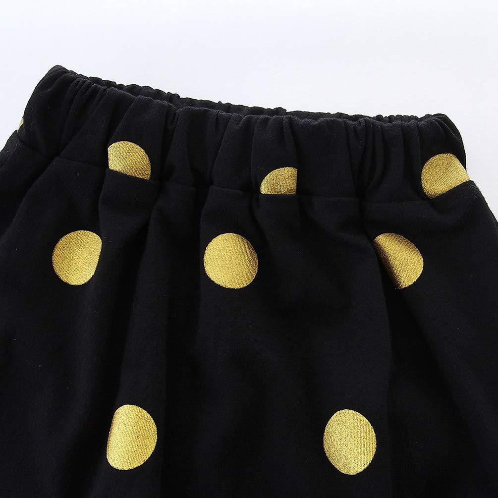 Pois Gonna a Matita Estivi Manica Corta T-shirt Stampata Jitong 2 Pezzi Set di Abbigliamento per Madre e Figlia