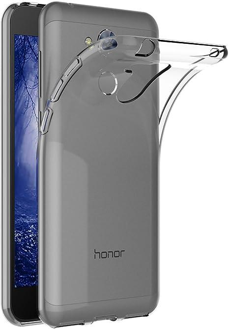 AICEK Funda Honor 6A, Transparente Silicona Fundas para Huawei ...