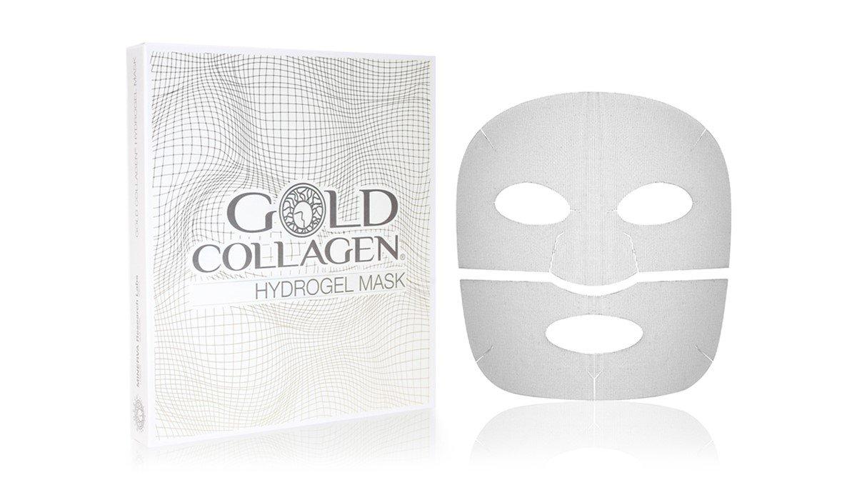 GOLD COLLAGEN HYDROGEL MASK - n. 4 MASCHERA VISO ANTI-AGEING. Millet Innovation MASK-IT