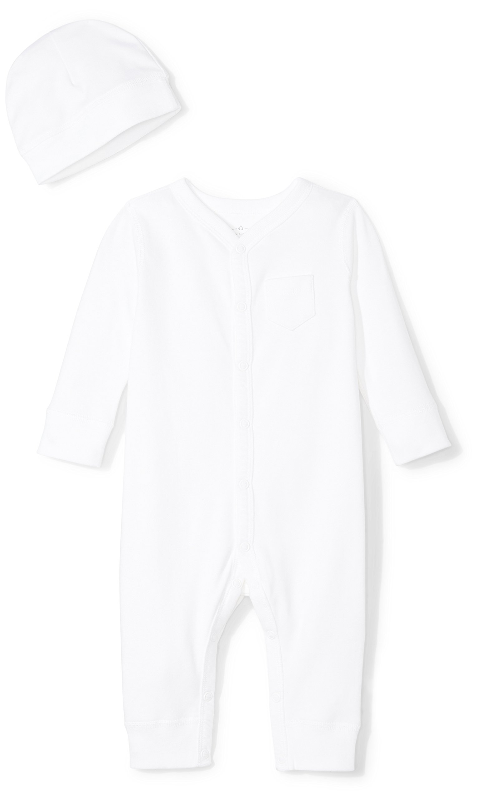 Moon and Back Baby Organic Snap-Front One-Piece