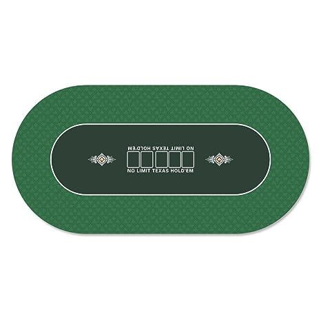 Elegant GAMELAND 35 X 70 Inch Portable Rubber Foam Poker Table Top Layout Poker Mat