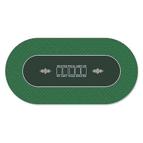 Beautiful 35 X 70 Inch Portable Rubber Foam Poker Table Top Layout Poker Mat