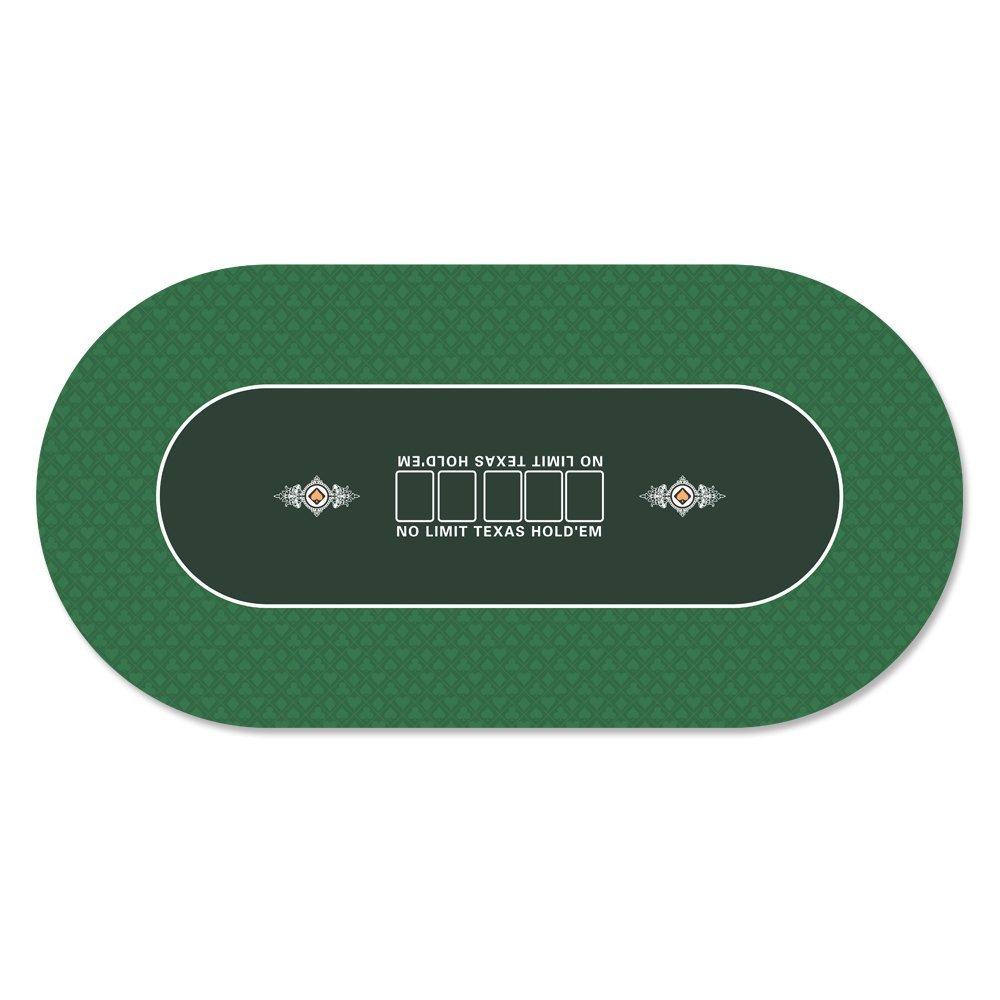 36 X 72 Inch Portable Rubber Foam Poker Table Top Layout Poker Mat