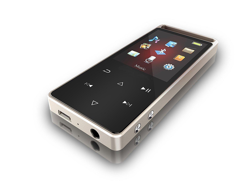 Yangchu Bluetooth 4.0 mp3プレーヤー、16 Gロスレスサウンド音楽プレーヤーwith Voice Recorderデジタル音楽ビデオプレーヤー B07CBNLTFV