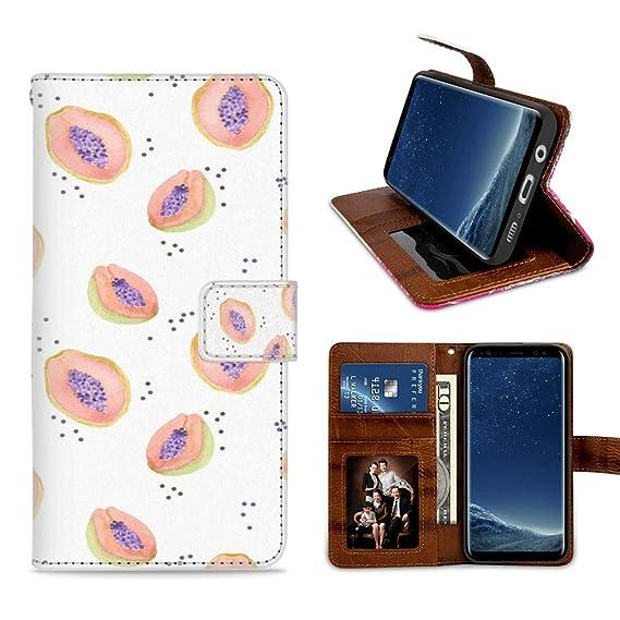 Amazon com: Badalink Wallet Case for Samsung Galaxy S8 Plus