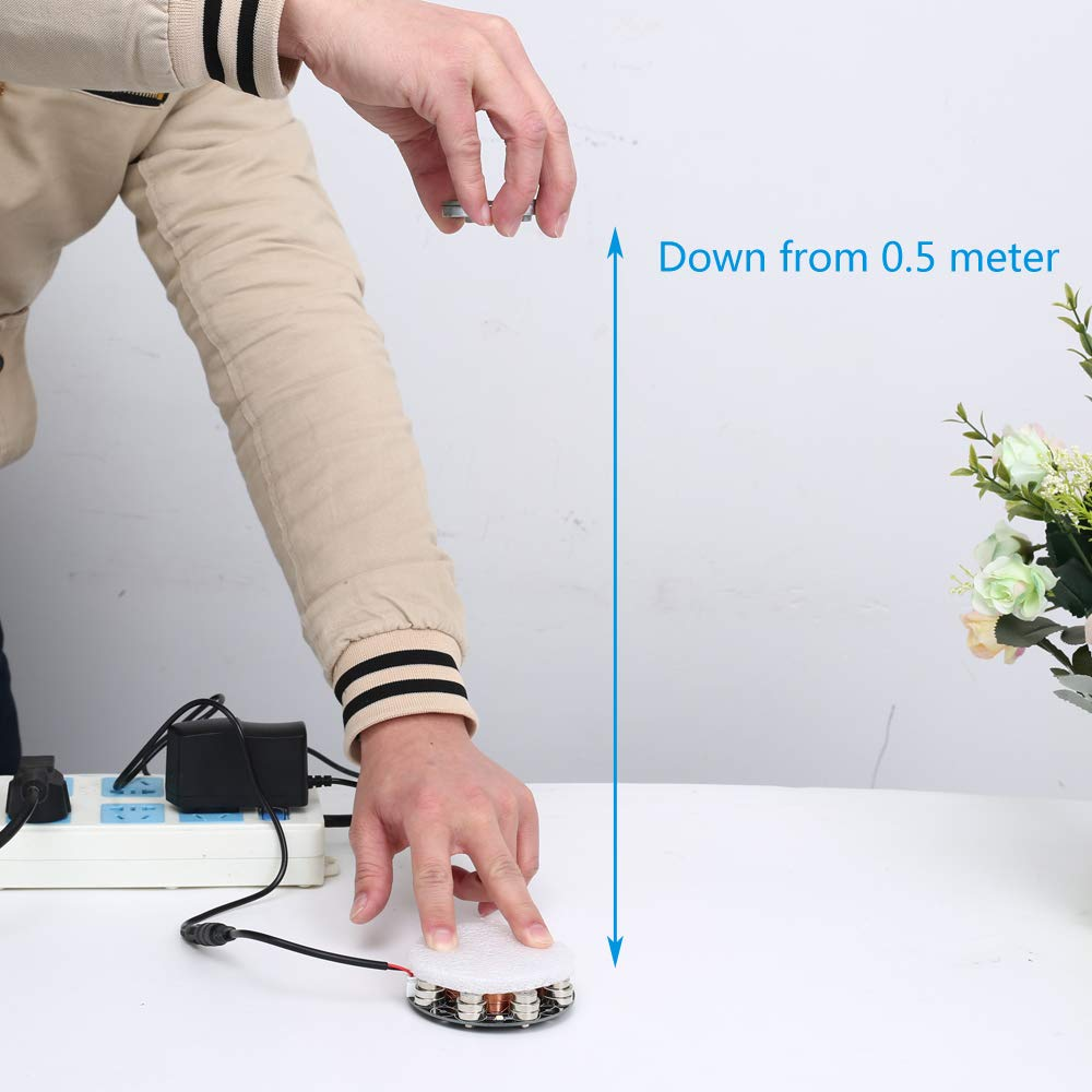 IS Icstation Electronic Maglev Levitron Magnetic Levitation Kit Display Suspension Stand Floating Holder Up to 220g for DIY Decoration Collection Show by IS (Image #4)