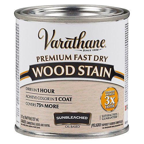 - Varathane 262030 Premium Fast Dry Wood Stain, 1/2 Pint, Sunbleached