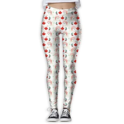 Fri Athletic Canada Beaver Compression Pants/Yoga Pants Baselayer Womens Winter Pants
