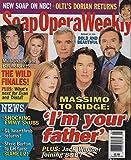 Jennifer Finnigan, Ronn Moss & Katherine Kelly Lang (Bold & the Beautiful) - February 25, 2003 Soap Opera Weekly
