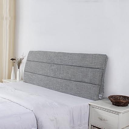 cojines de cabecera extraíbles lavables cobertores de cama ...