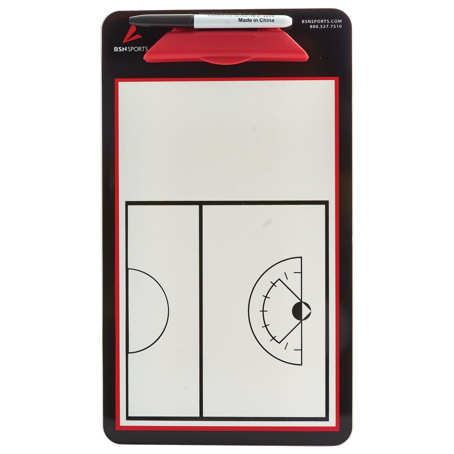 BSN Sports Women's Double Sided Lacrosse Coaching Board