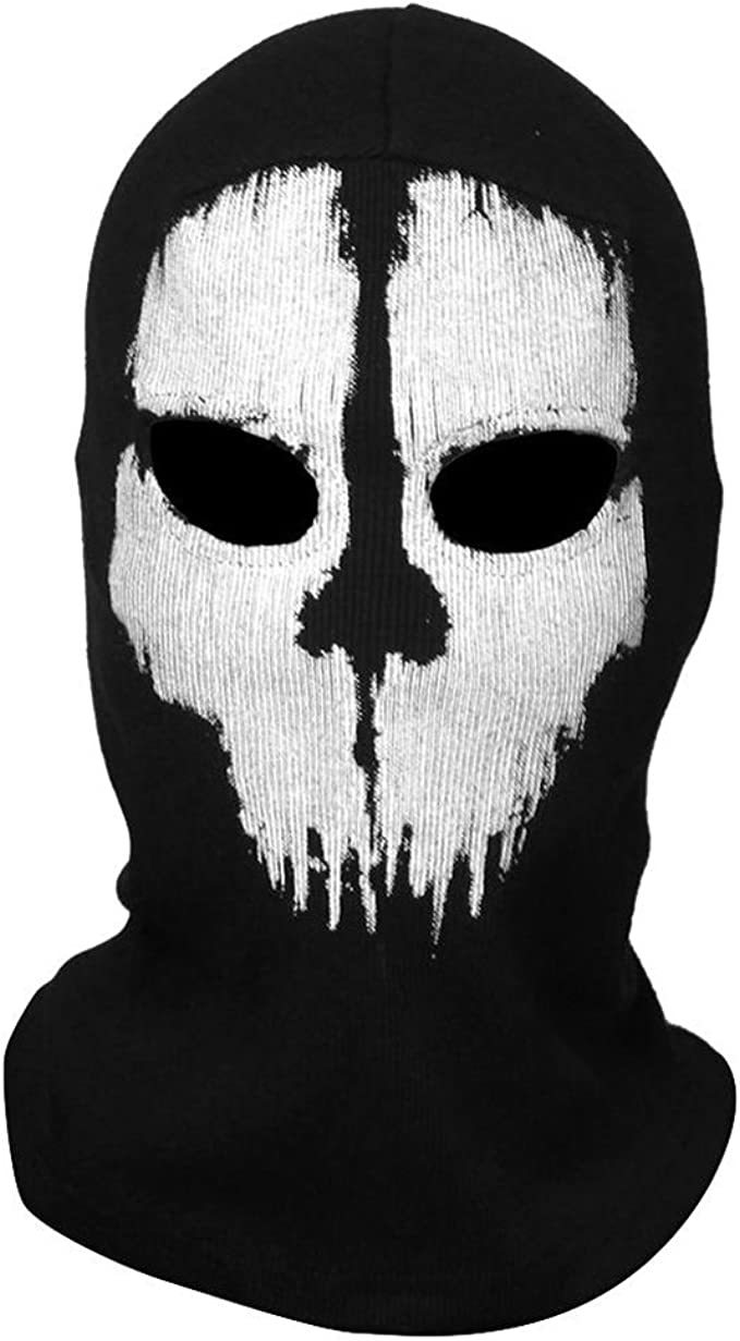 Amazon Com Yiding Call Of Duty 10 Cod Ghost Balaclava Logan Skull
