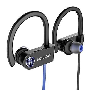 e17eb9ec2e7 Auriculares Bluetooth HBUDS Bluetooth 4.1 Deportivos Inalámbricos Estéreo  In-Ear Auriculares con Micrófono 8-