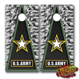 CL0060 Army CORNHOLE LAMINATED DECAL WRAP SET Decals Board Boards Vinyl Sticker Stickers Bean Bag Game Wraps Vinyl Graphic Image Corn Hole Military Armed Forces Navy Airforce Marines Coast Guard