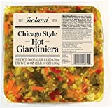 Roland Foods Chicago Style Hot Giardiniera, 56 Ounce
